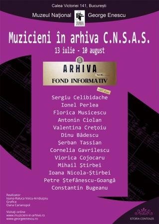 Muzicieni în Arhiva CNSAS