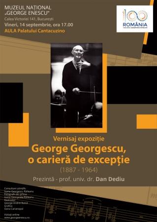 """Vernisajul expoziției """"George Georgescu, o carieră de excepție (1887 -1964)"""""""