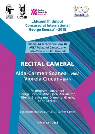 DUO Aida-Carmen Soanea (violă) – Viorela Ciucur (pian)