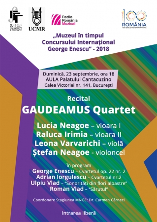 Cvartetul de coarde GAUDEAMUS