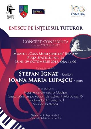 ENESCU pe înțelesul tuturor / Brașov