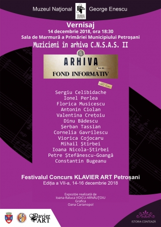 "Vernisajul expoziției ""Muzicieni în Arhiva C.N.S.A.S. II"""