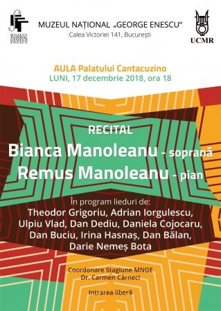 Recital Bianca și Remus Manoleanu