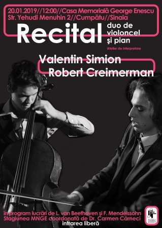 Recital DUO VIOLONCEL-PIAN