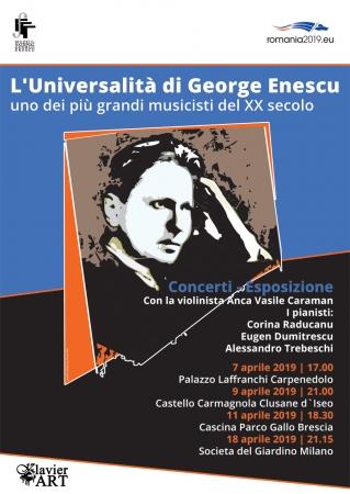 """Expoziția """"L`universalita di George Enescu"""""""