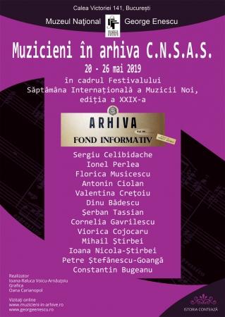 """Expoziția """"Muzicieni în arhiva C.N.S.A.S."""" în cadrul SIMN"""