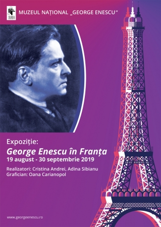 """""""George Enescu în Franța"""""""