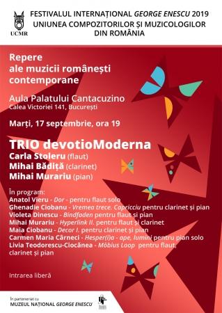 Repere ale muzicii românești contemporane / TRIO devotioModerna