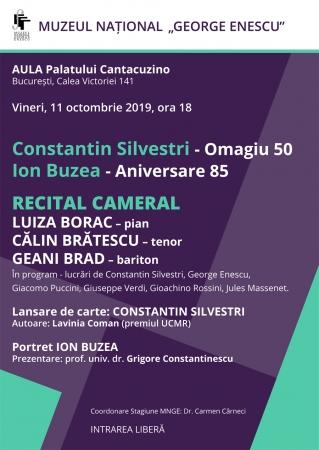 Constantin Silvestri - Omagiu 50 / Ion Buzea - Aniversare 85