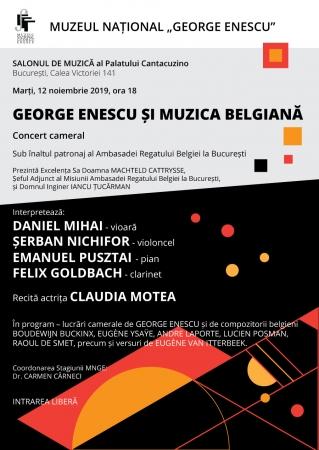 George Enescu și muzica belgiană
