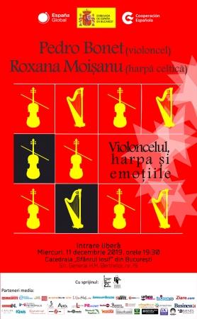 Violoncelul, harpa şi emoţiile