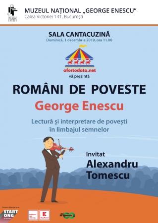 Români  de  poveste - George Enescu
