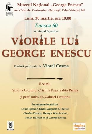 """Vernisajul expoziției """"Viorile lui George Enescu"""""""
