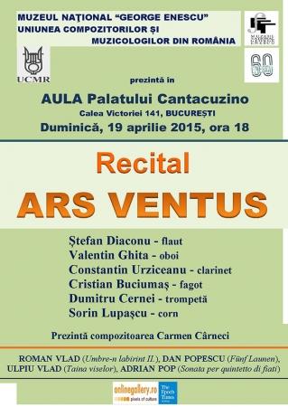 Recitalul cvintetului de suflători ARS VENTUS (III)