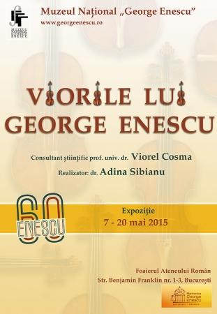 """""""Viorile lui Enescu"""" la Ateneul Român"""
