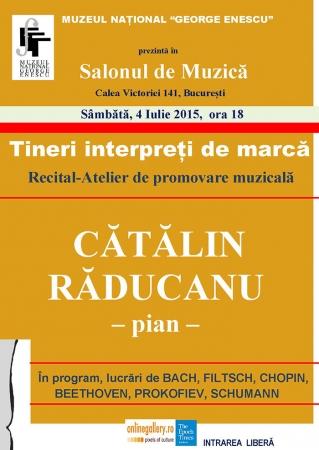 Tineri interpreți de marcă - Recital-Atelier de promovare muzicală