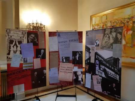 "Expoziția ""The Universal Resonance of George Enescu"" la Sinaia"
